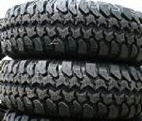 Two Stacked Tires
