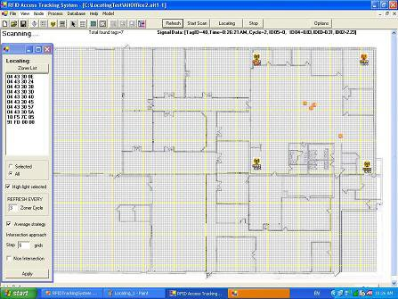 Office RTLS Mapping