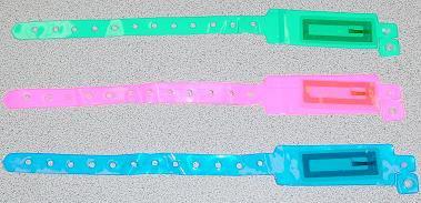 Sample Wristbands